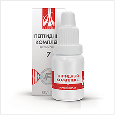 Peptide complex 7 10ml for improving the operation of the pancreas and pancreatitis prevention