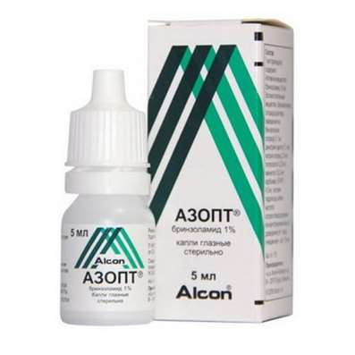 Azopt eye drops 1% 5ml buy antiglaucoma preparation online