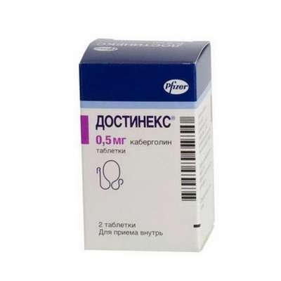 Dostinex 0.5mg 2 pills buy hypoprolactinemic online